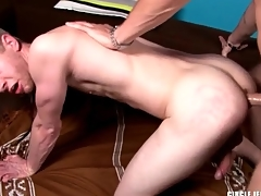 Big dick wrapped near latex fucks go off at a tangent arse