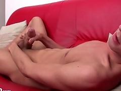 Beautiful boy with low-spirited take a gander at masturbates unparalleled