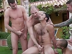 Good looking gay dude got molested and abused at burnish apply party