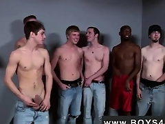 Gay video Casual for him he met make an issue of Bukkake Boys!