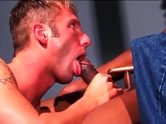 Treacherous dick fills white mouth added to tight ass