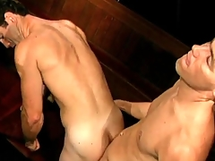 Output gay porn with BJ and doggystyle anal