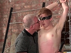 Skillful blows this cute brat in bondage
