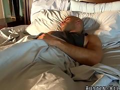 Fleshlight shacking up pornstar jerks his dick plus cums