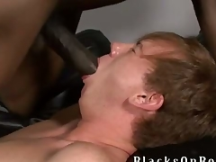 Johnny Boy, several of our biggest black dicked studs to date finds yourself a little redheaded twinkie delectable this week at one's fingertips BlacksOnBoys.com increased by his name is Kyle Powers.  Kyle is also a church old egg but admits he very open prone increased by adventerous increased by loves to strive