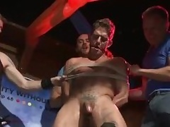 Go-Go Dancer Gets Fucked By Proscription Crowd