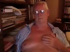 Grandpa show on cam 2